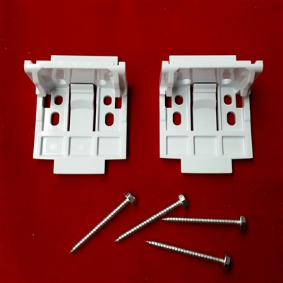 Discontinued Kit Vignette Installation Brackets Plastic