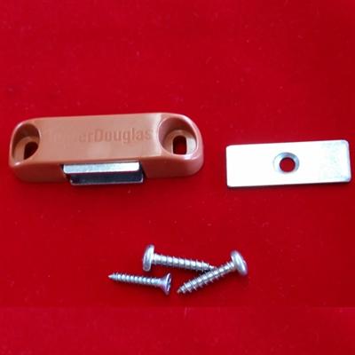 Designer Magnet Assembly Kit For Shutter Cherry Brown