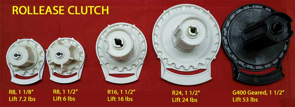 Clutch Parts For Roman Roller Shade Wholesale Blind Parts