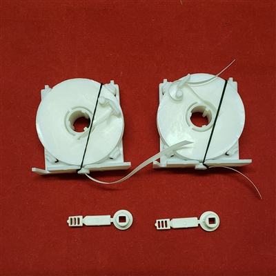 Restring Kit 2 Flat Tape Ribbon Lift Set With Restring